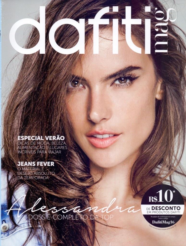 Alessandra Ambrosio stars in Dafiti's spring 2016 magazine Alessandra Ambrosio