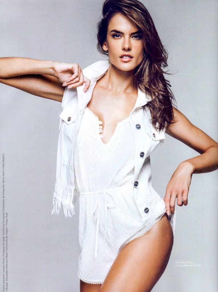 Alessandra Ambrosio Ro... Rosie Huntington Whiteley Hair