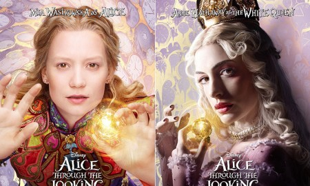 Alice Through the Looking Glas movie posters revealed