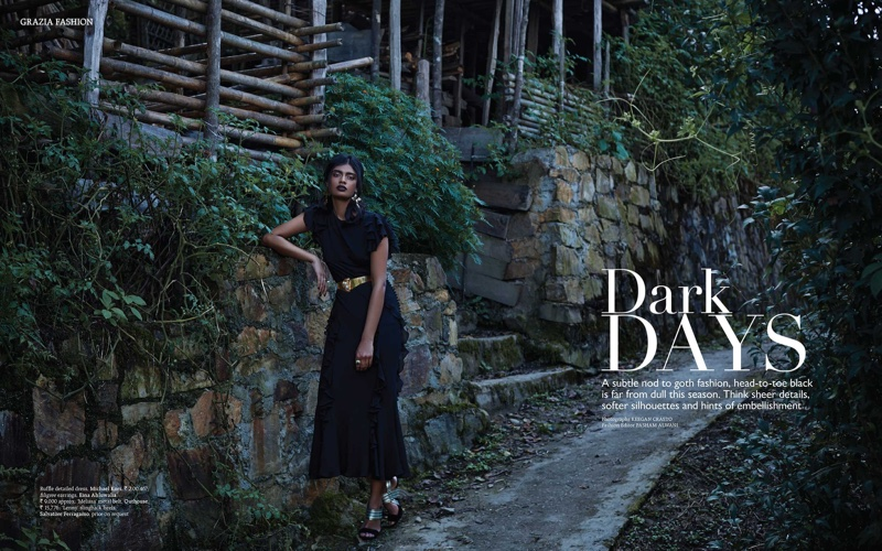 Archana Akil Kumar Shows How to Wear Head-to-Toe Black in Grazia India