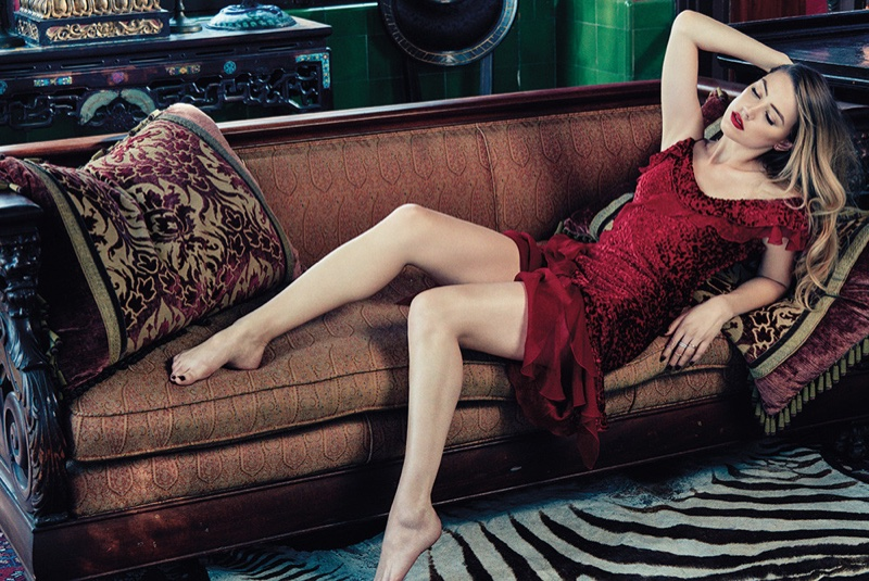 Amber Heard Poses for C Magazine, Talks 'The Danish Girl' Role