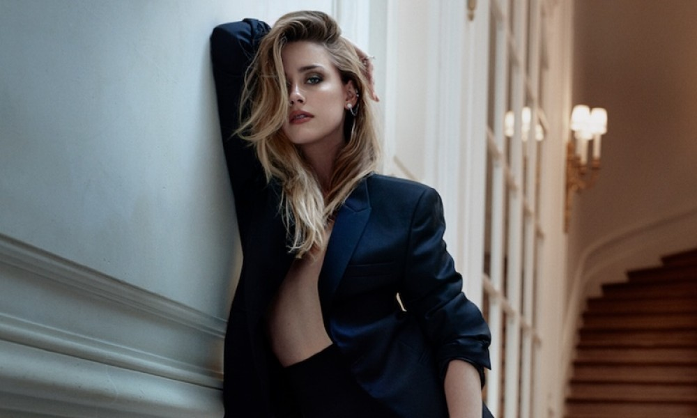 Amber Heard Marie Claire December 2015 Cover