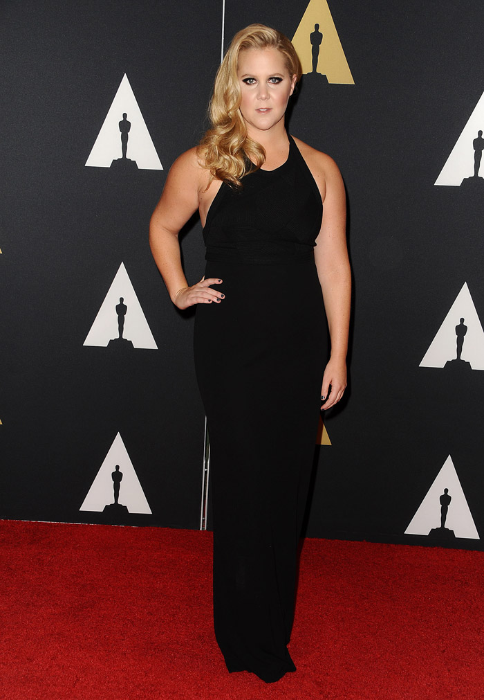 Amy Schumer Steps Out in Black at the 7th Annual Governors Awards