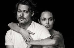 Angelina Jolie & Brad Pitt Cozy Up for Vanity Fair Italia