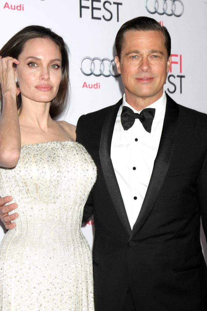 Angelina Jolie and Brad Pitt at the By the Sea AFI FEST Premiere. Image: Helga Esteb / Shutterstock.com