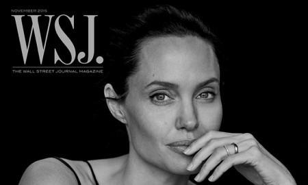 Angelina Jolie on WSJ. Magazine November 2015 cover