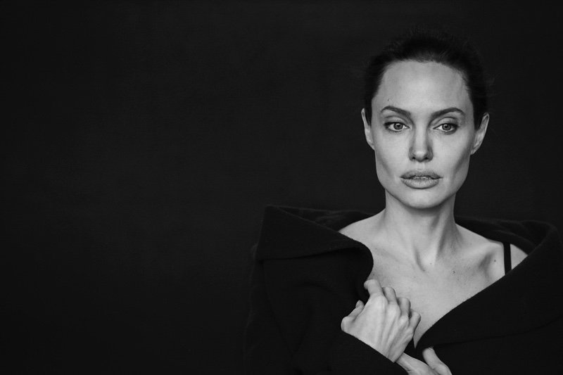 Angelina talks to the magazine about her health