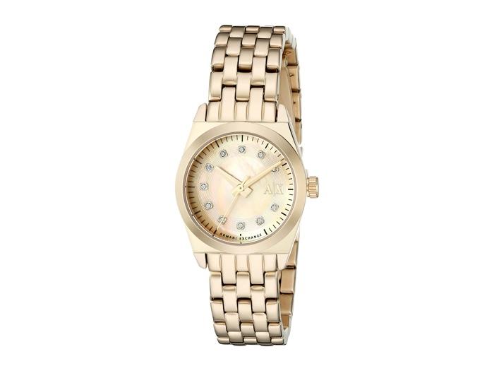 Armani Exchange Miss Jackson Gold Watch