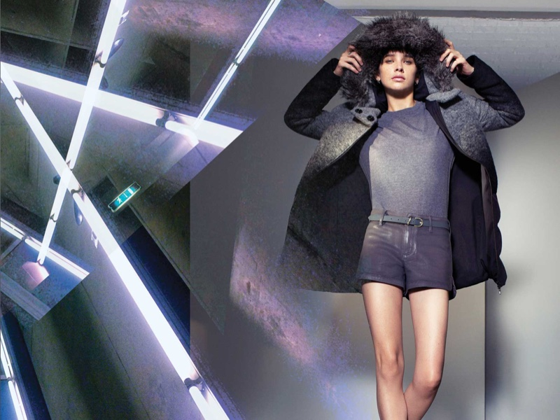 Big Chill: Armani Exchange Launches Winter 2015 Looks