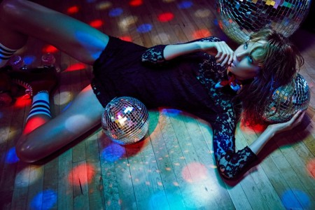 Elisabeth Erm Rocks Disco Style in BB Dakota's Winter Lookbook