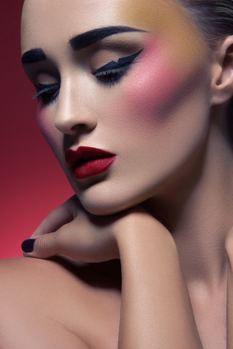 beauty shoot makeup jeff tse editorial payton looks photographer stuns hair gone rogue seductive wears