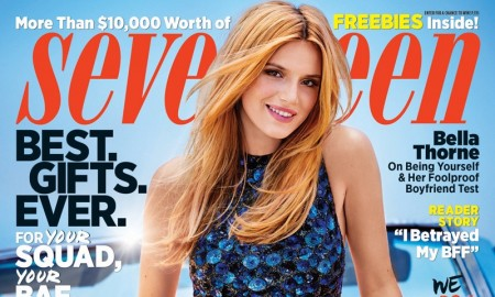 Bella Thorne on Seventeen Magazine December.January 2015.2016 cover