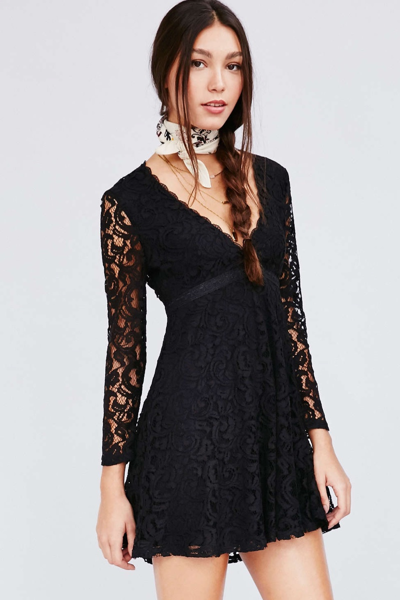 Fit And Flare Sequin Dress