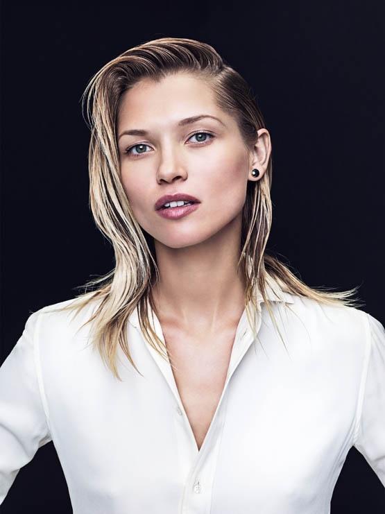 Hana Jirickova stars in Bergdorf Goodman's November 2015 magazine