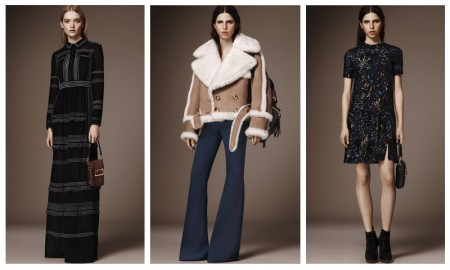 Looks from Burberry's pre-fall 2016 collection