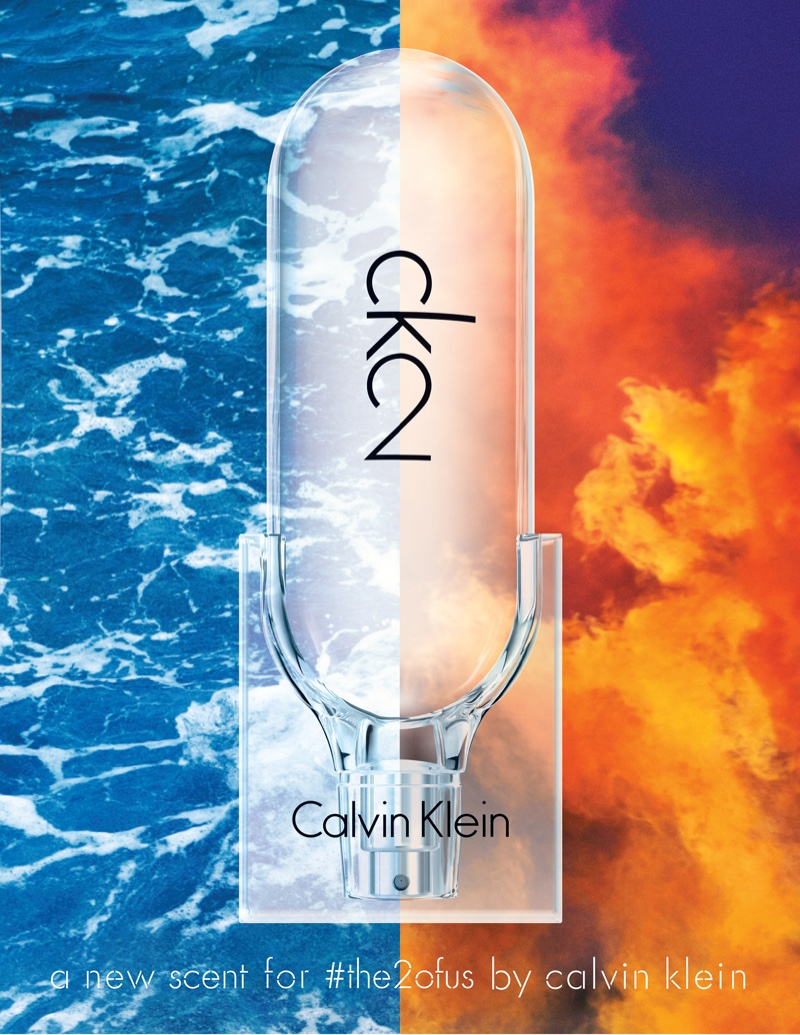 Calvin Klein CK2 Fragrance bottle