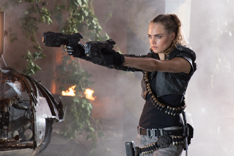 Cara Delevingne for Call of Duty Black Ops III commercial