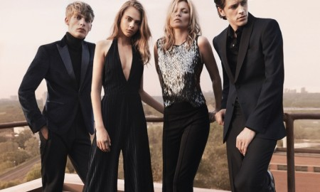 Kate and Cara wear party ready looks for Mango