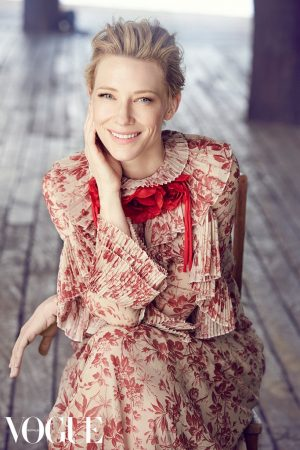Cate Blanchett Looks Radiant on Vogue Australia Cover