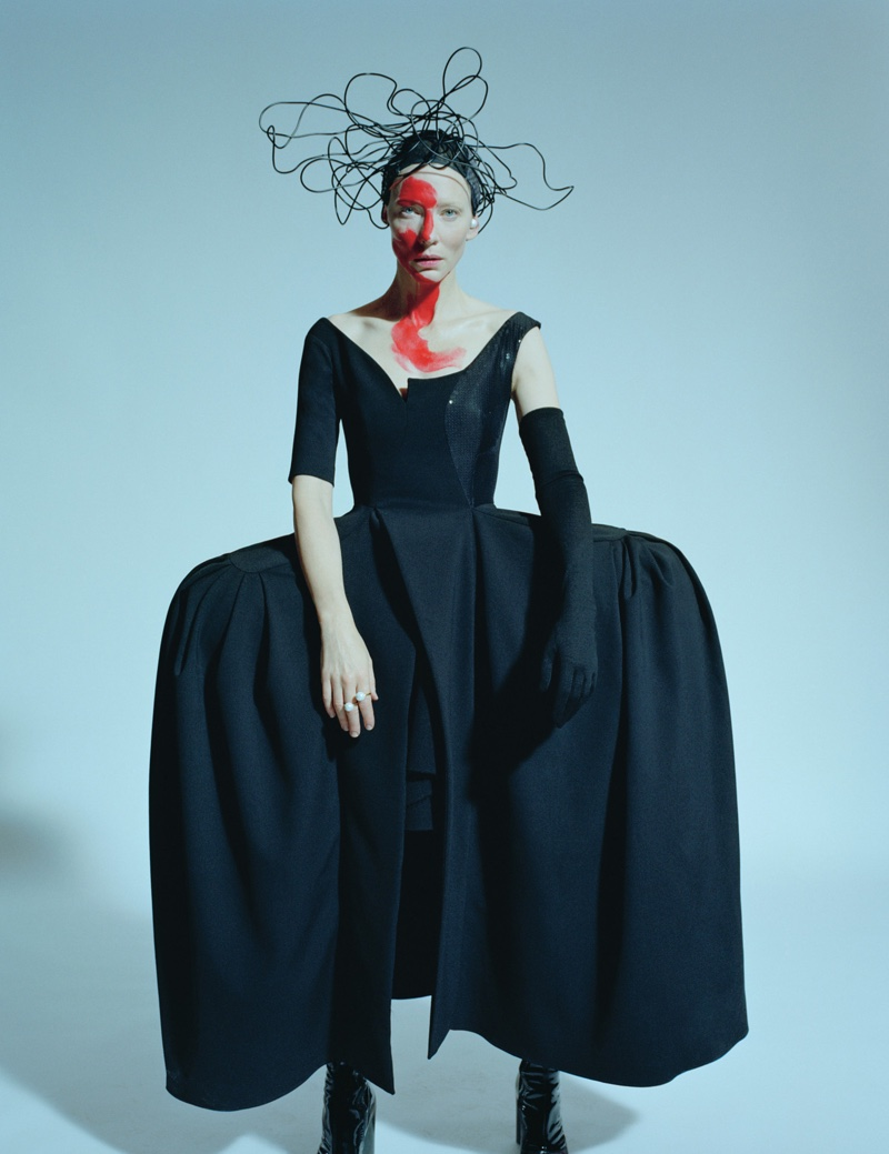 Cate Blanchett Goes Avant Garde for W Magazine