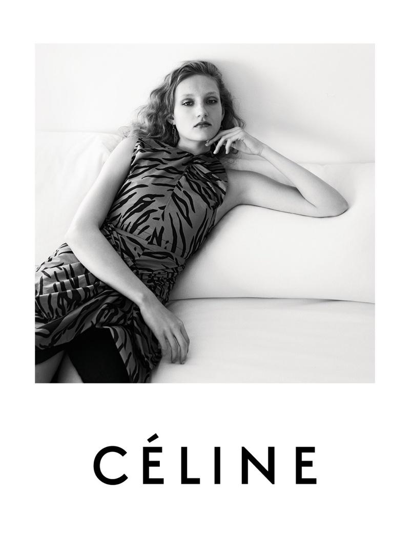 Celine Goes Black & White For Resort 2016 Campaign