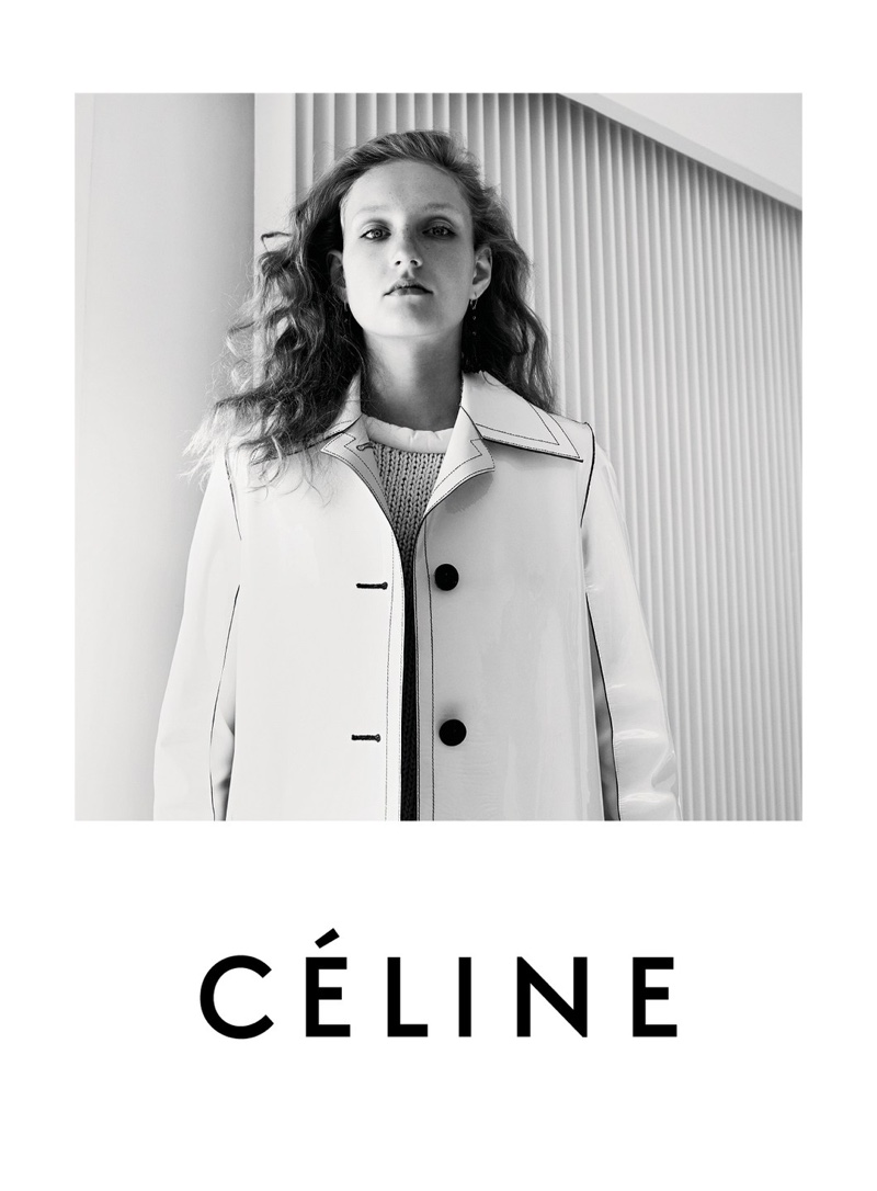 celine mini luggage tote hot pink - C��line Resort 2016 Campaign Pictures