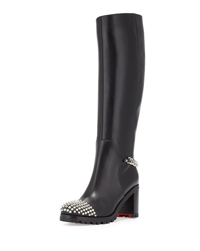 Black Christian Louboutin Boots \u0026amp; Booties for Sale