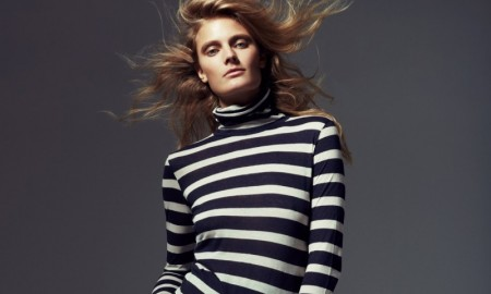 Constance Jablonski stars in Madame Figaro's November issue