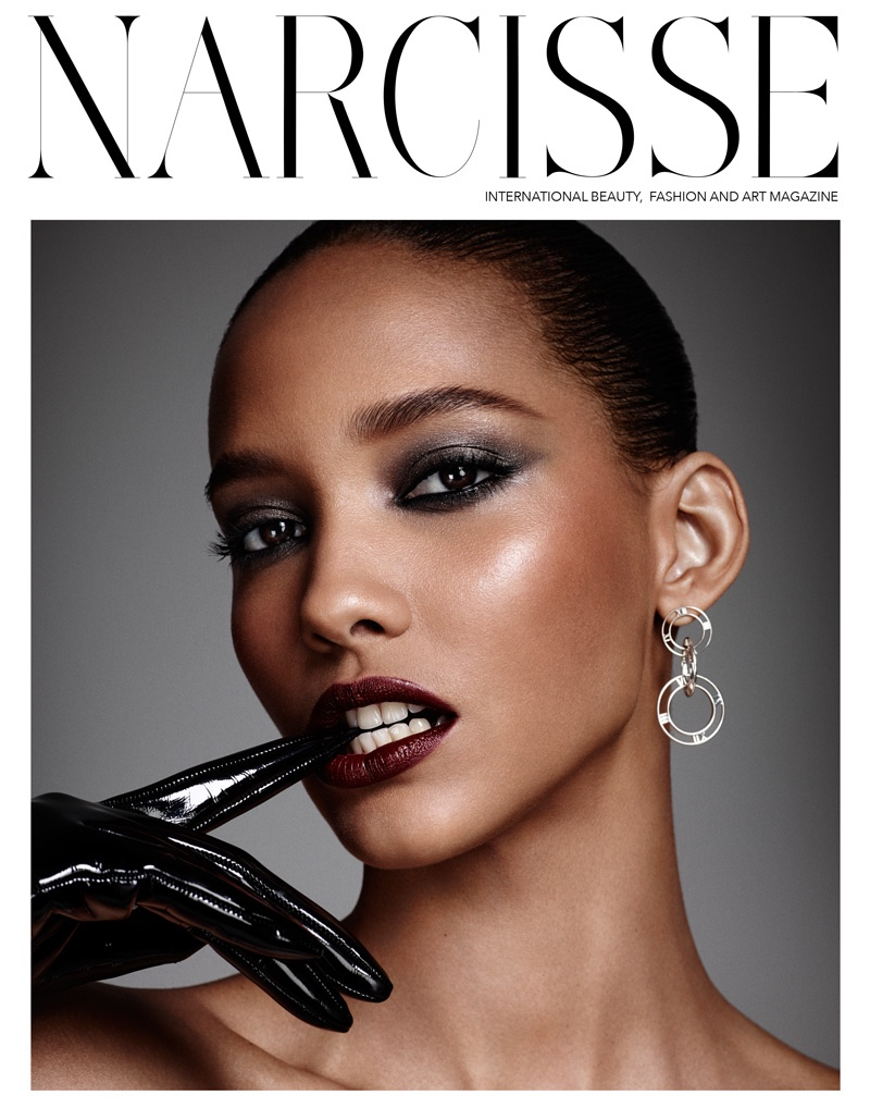 Cora Emmanuel on Narcisse November 2015 cover