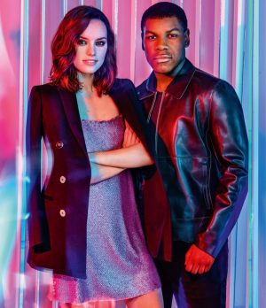 'Star Wars' Actors Daisy Ridley + John Boyega Land ASOS' December Issue