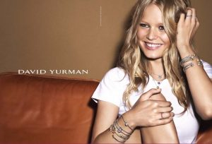 Anna Ewers Shines in David Yurman's Holiday 2015 Campaign