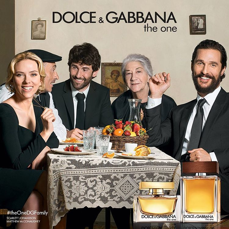 Scarlett Johansson & Matthew McConaughey Are All Smiles for Dolce & Gabbana