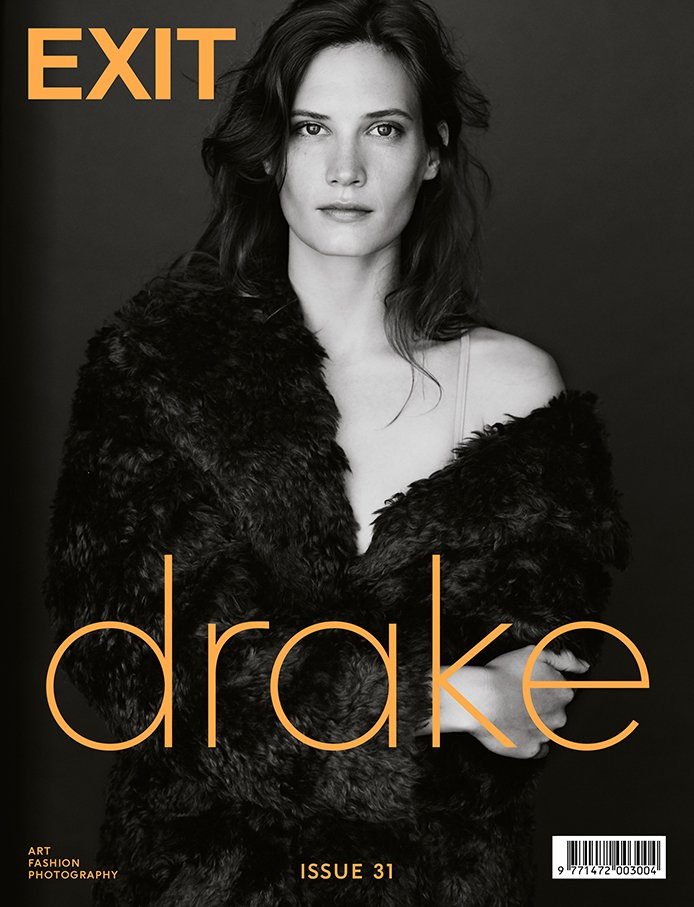 Drake Burnette on Exit Magazine F/W 2015 cover