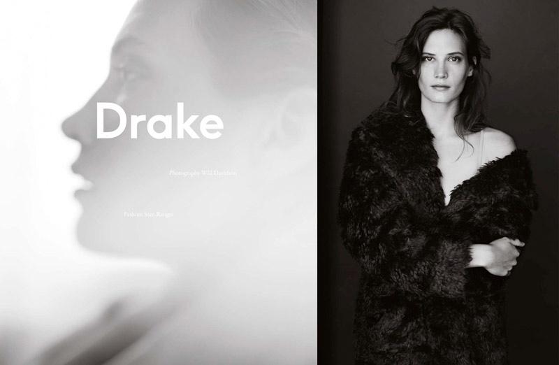 Drake Burnette stars in Exit Magazine's fall-winter issue