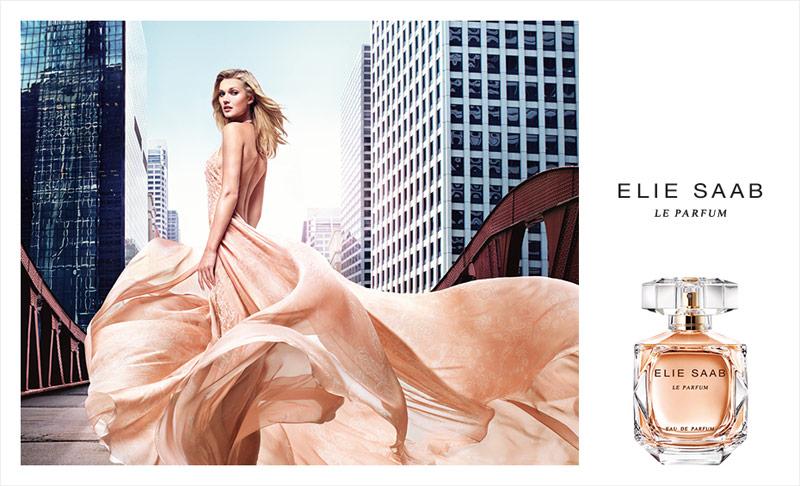 Toni Garrn stars in Elie Saab perfume campaign