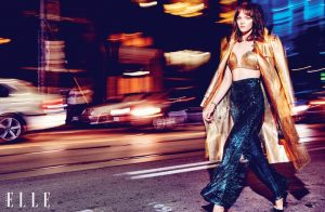 Shine On! Jenna Earle Brings Some Sparkle to ELLE Canada