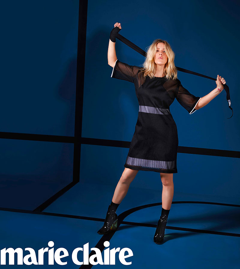 Ellie Goulding Explains Her Love of Boxing in Marie Claire