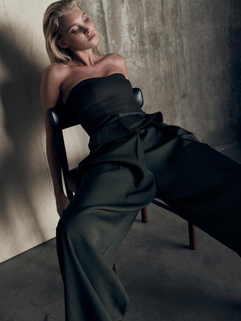 Elsa Hosk stars in So It Goes Magazine