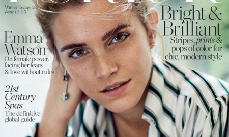 Emma Watson on Porter Magazine winter 2015 cover