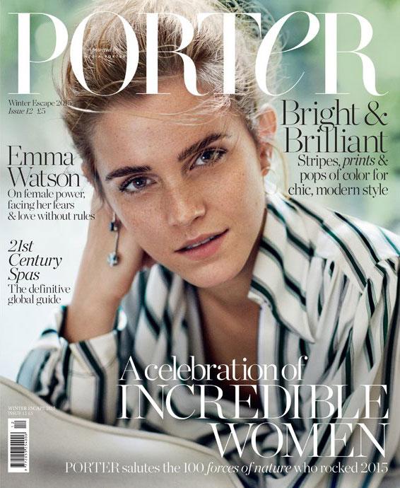 Emma Watson Lands PORTER Magazine Cover