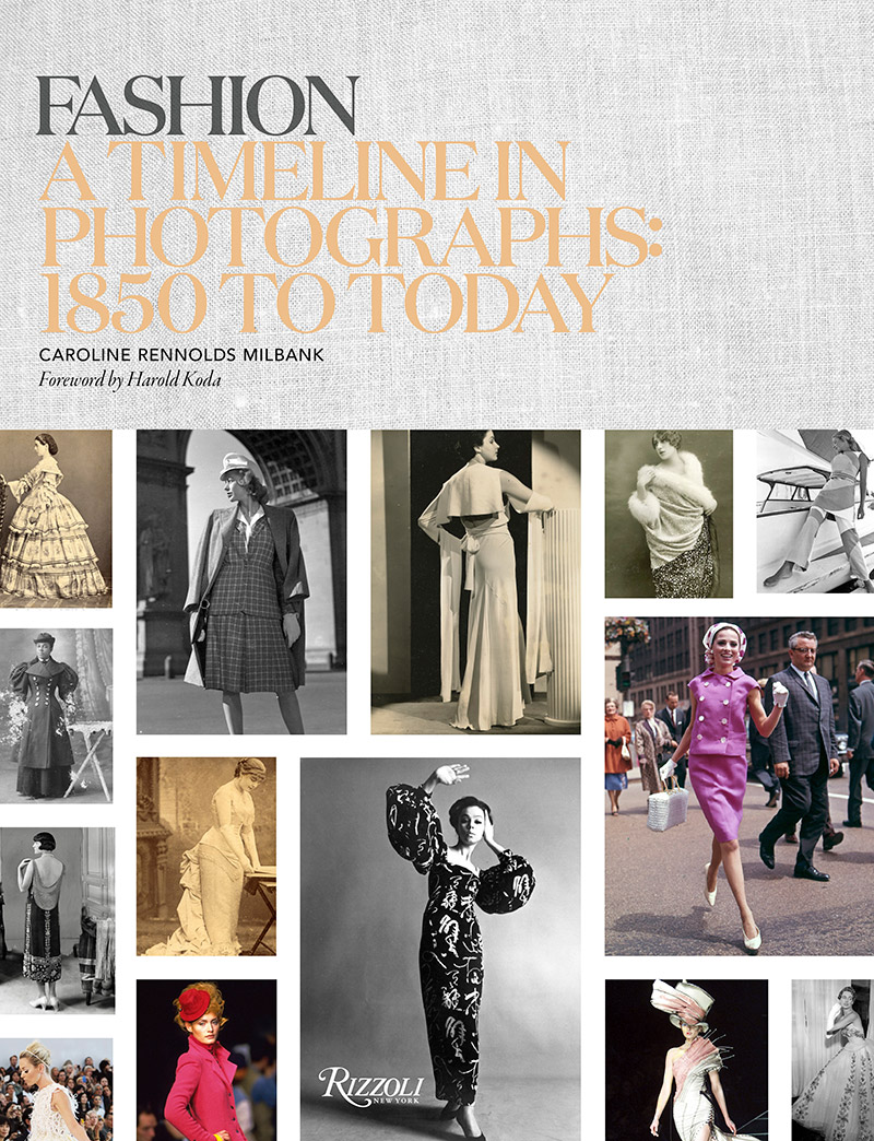 Fashion: A Timeline in Photographs: 1850 to Today cover