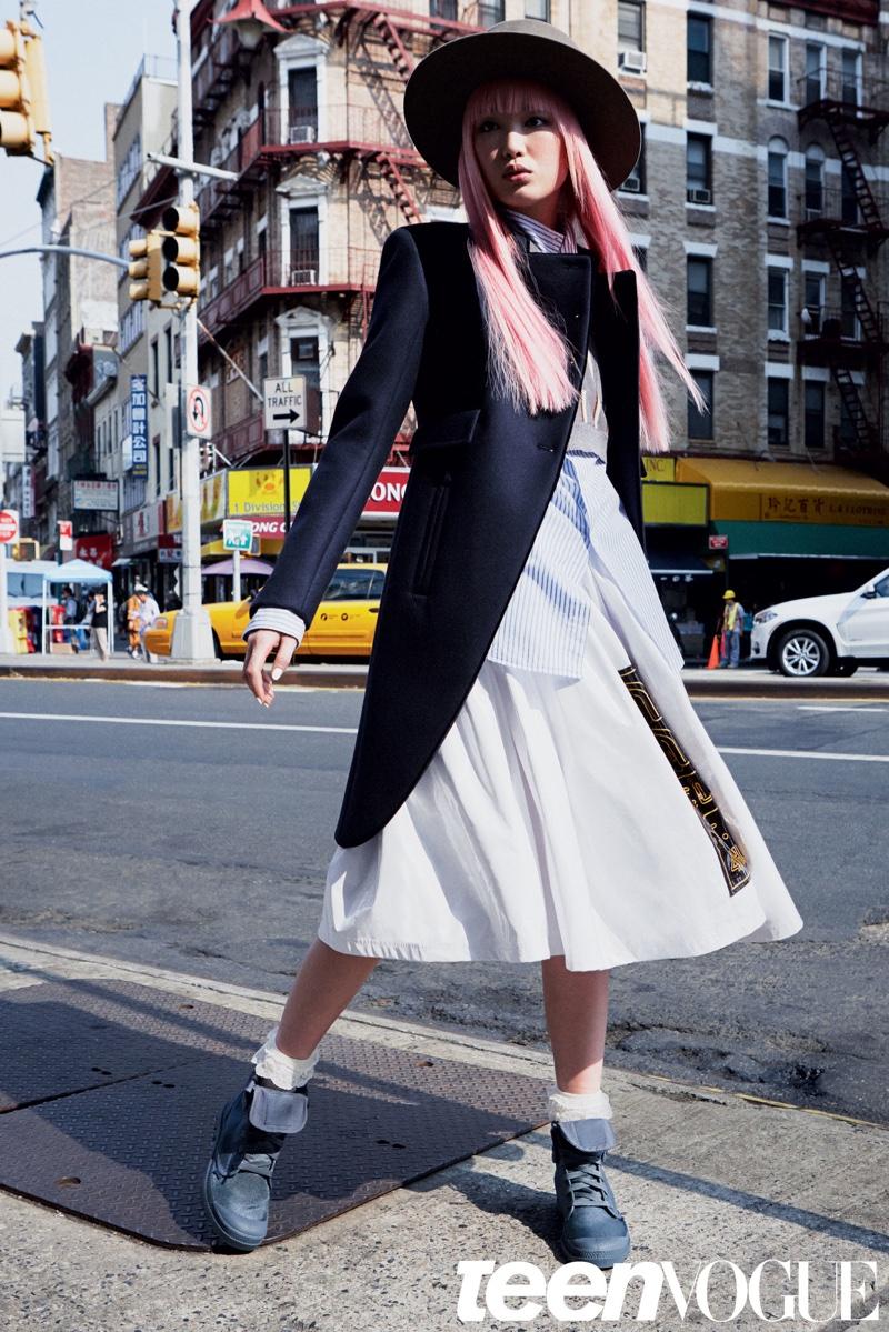 Fernanda Ly Lands Teen Vogue Cover, Talks Modeling Career