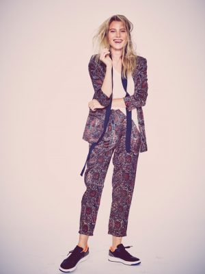 Dree Hemingway Models City Glamour for Free People Holiday Shoot