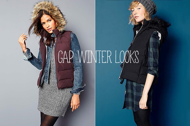 Looks from Gap's winter 2015 arrivals