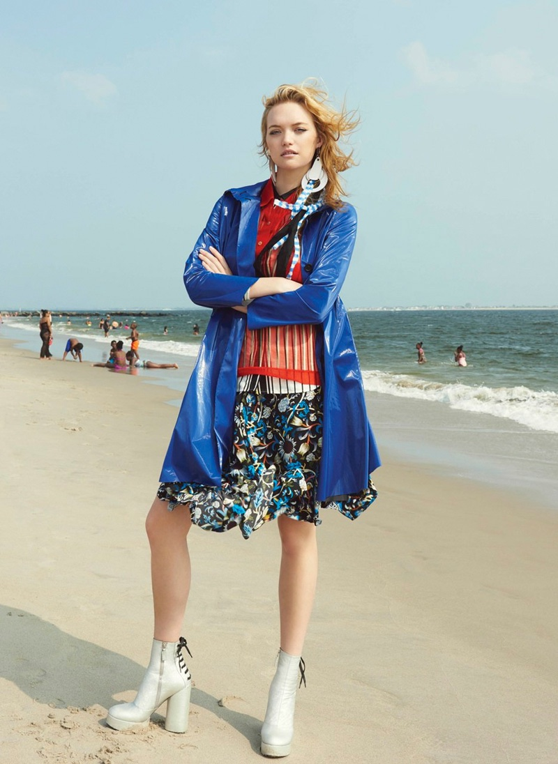 Gemma Ward stars in V Magazine's winter issue