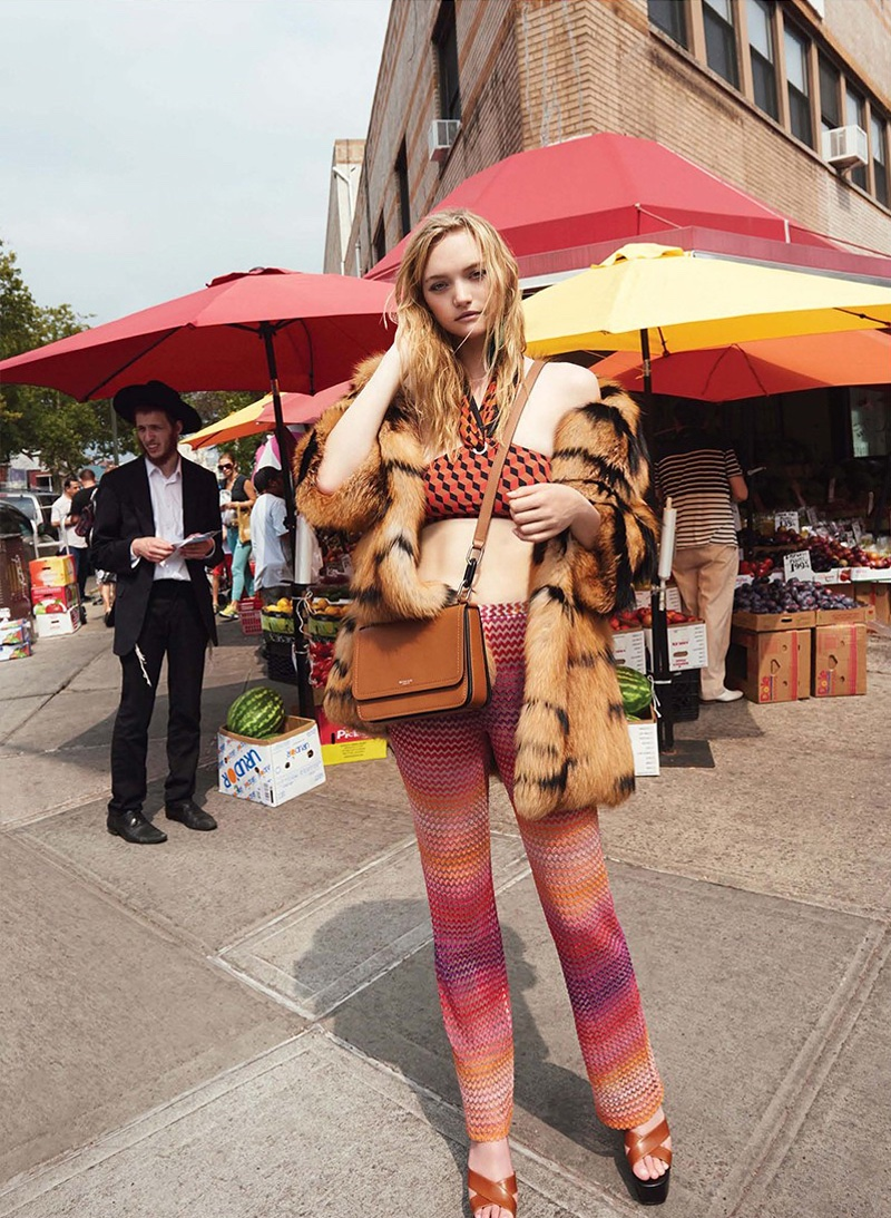 Gemma Ward Wears the Most Colorful Cruise Collections for V
