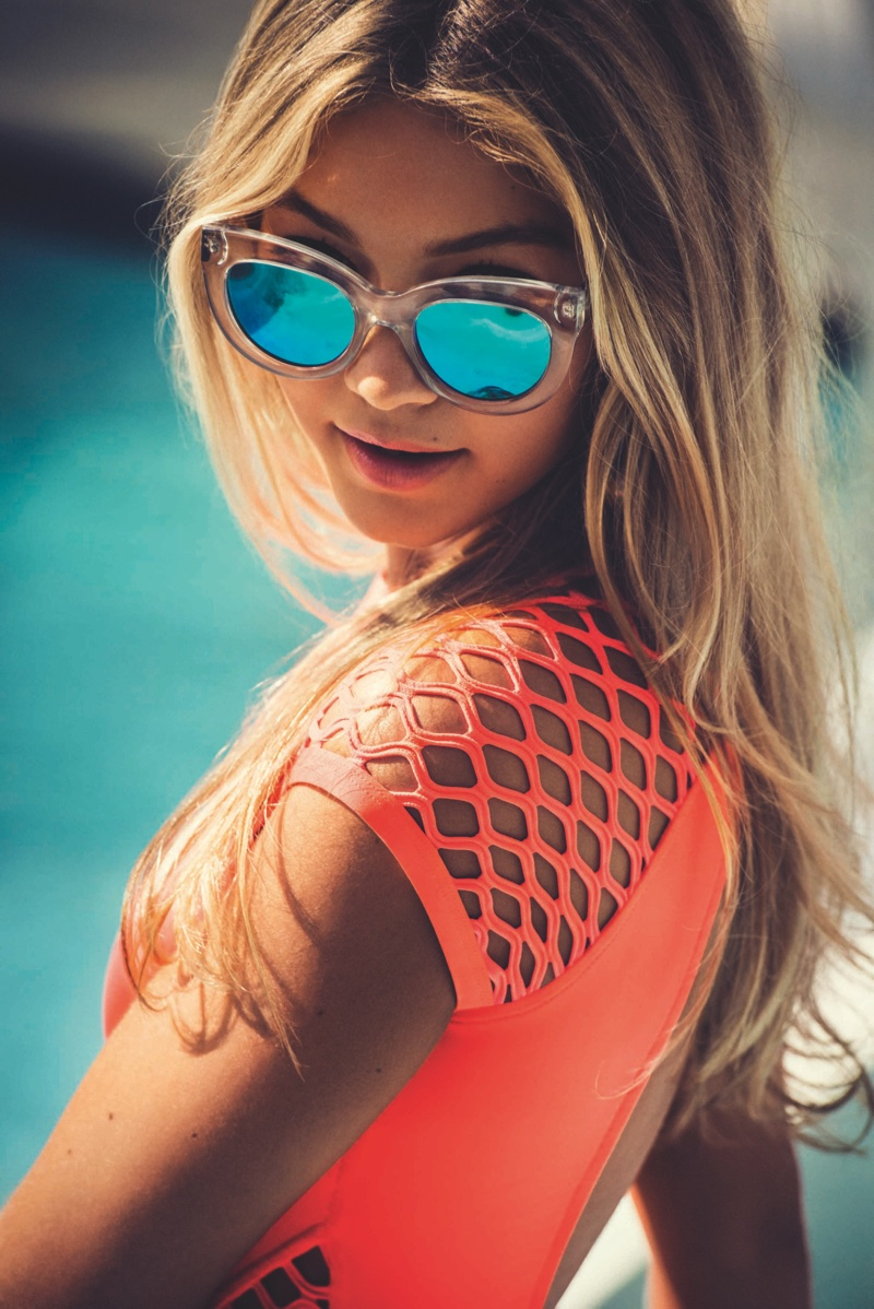Gigi Hadid Seafolly 2015 / 2016 Eyewear Campaign