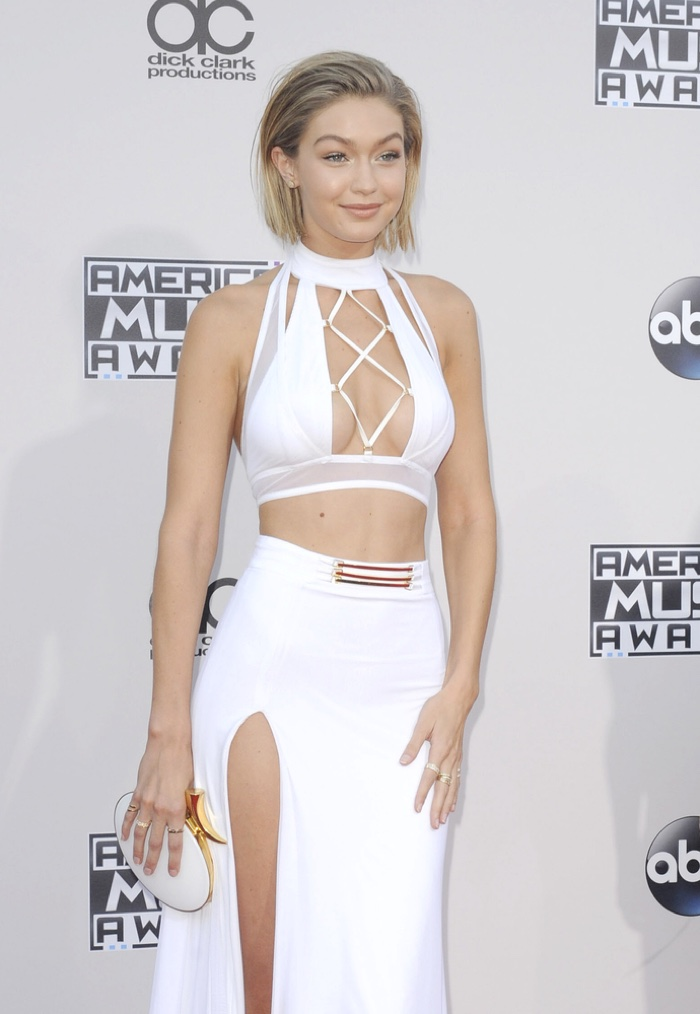 Gigi Hadid at the 2015 American Music Awards. Photo: Tinseltown / Shutterstock.com