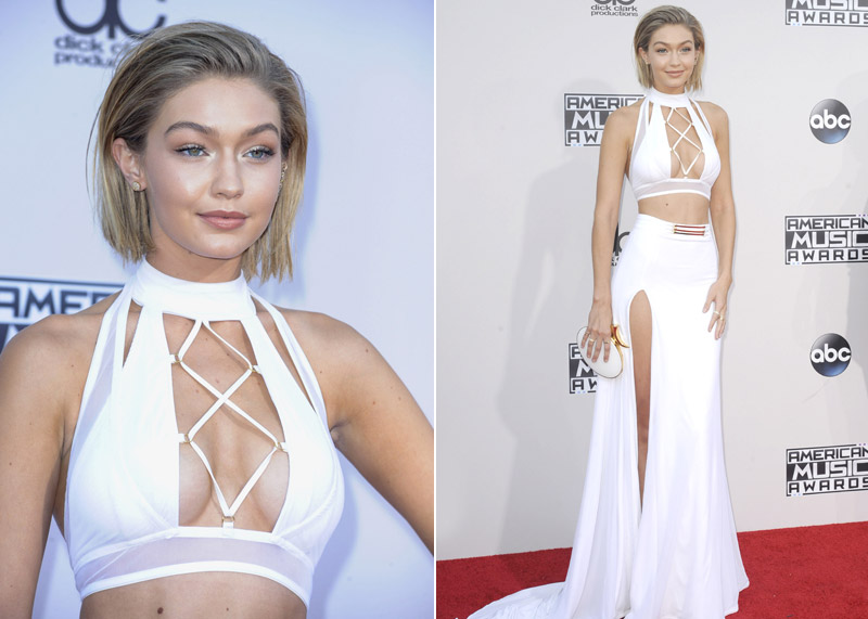 Find Out About Gigi Hadid`s Short AMAs Hairstyle