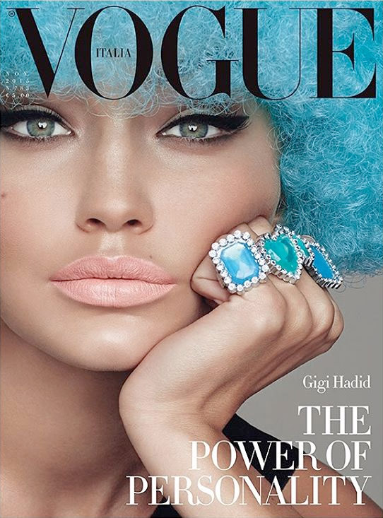 Gigi Hadid Lands First Vogue Italia Cover